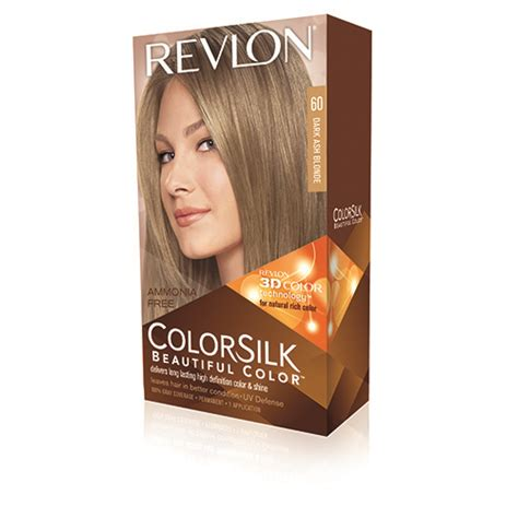 dark ash blonde revlon colorsilk beautiful color 60 dark ash blonde by revlon for