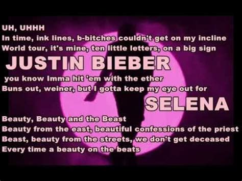 beauty and the beast justin bieber feat nicki minaj free mp3 download justin bieber ft nicki minaj beauty and a beat lyrics