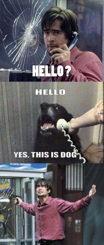 Dog Phone Meme - best of hello this is dog pics smosh
