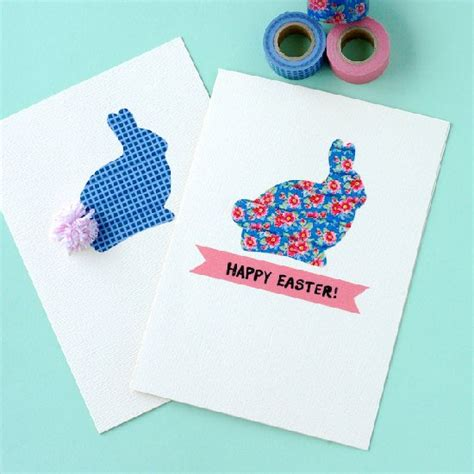 how to make a great card diy easter card ideas to make at home