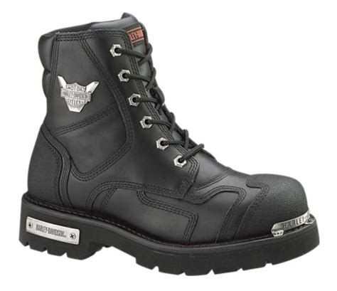 mens black motorcycle riding boots harley davidson men s stealth motorcycle boots patch lace