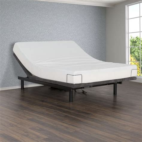 primo international peak upholstered adjustable bed walmart canada