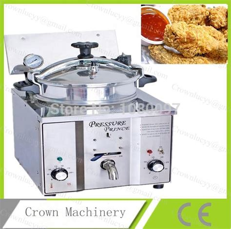Royalledy Table Electric Fryer Mdxl 16l 16l capacity table top chicken pressure fryer in electric fryers from home improvement on