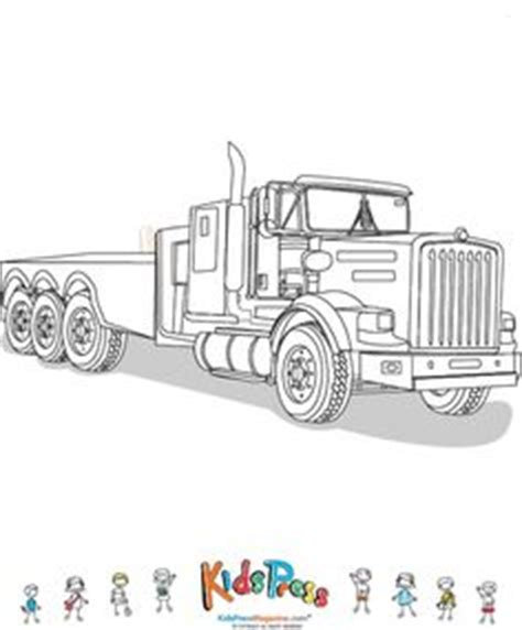 flat bed coloring page vehicles coloring pages on coloring pages kid