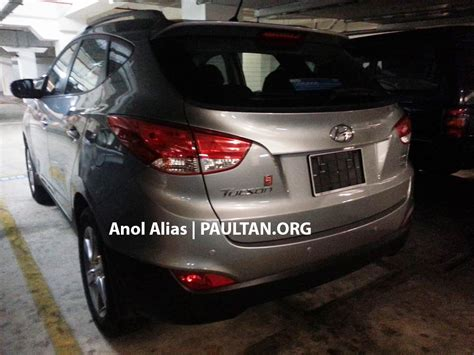 hyundai tucson facelift 2 0 manual spotted at jpj image