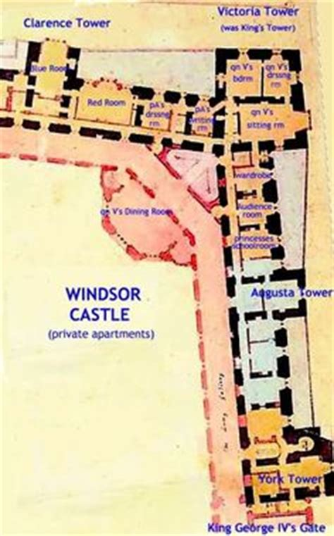 highclere castle aka downton abbey note i adapted windsor castle partial floor plan