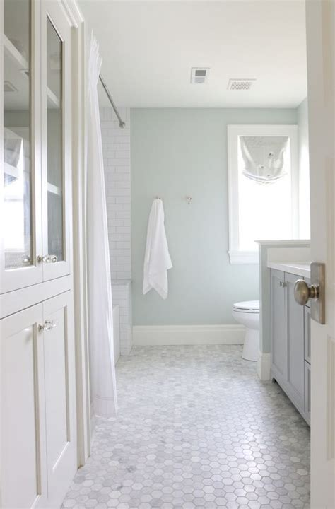 1000 ideas about hexagon tile bathroom on pinterest