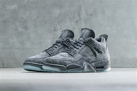 Air 4 Retro Kaws kaws air 4 cool grey 930155 003 release info