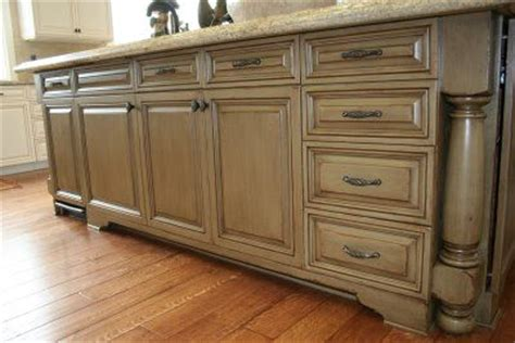 painted glazed kitchen cabinets paint and glaze cabinets house of style pinterest