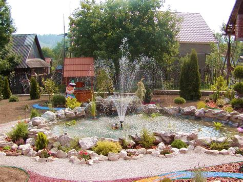 landscape design with water fountains backyard design ideas