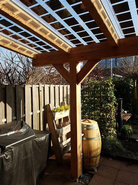 veranda zonnepanelen zonneveranda veranda hout