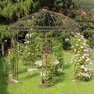 Pergola Swings pavillons aus metall ein blickfang in jedem garten
