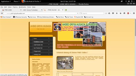 tutorial deface website tutorial deface web universitas pmb megonos