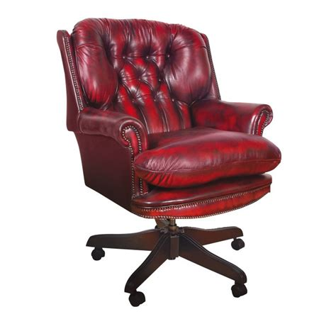 President Swivel Chair Chesterfield Swivel Chair