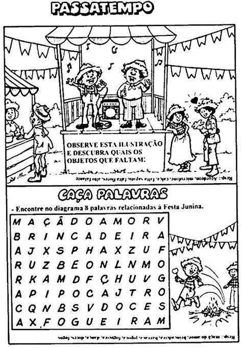 Atividades sobre Festa Junina – Educação Infantil