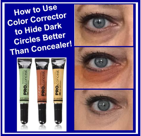 best color corrector for circles how to use color corrector to hide circles better