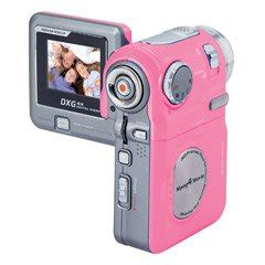 Dxg Release 5 Megapixel Camcorder Dxg 506v In Four Colours Including Black Natch by Dxg Digital Dxg Digital