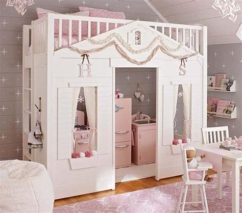 Pottery Barn Cottage Loft Bed | cottage loft bed pottery barn kids