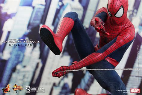 the amazing spider man swing marvel spider man sixth scale figure by hot toys