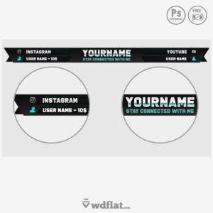 forged template twitch overlay panels and template it s free