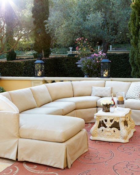 upholstered outdoor furniture venture outdoor upholstered sectional