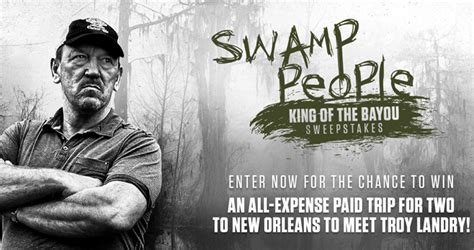 People Sweepstakes - history channel sw people king of the bayou sweepstakes