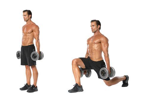 dumbbell bench lunges 增肌要訣 一星期3節訓練即可 gymbeginner 健身入門