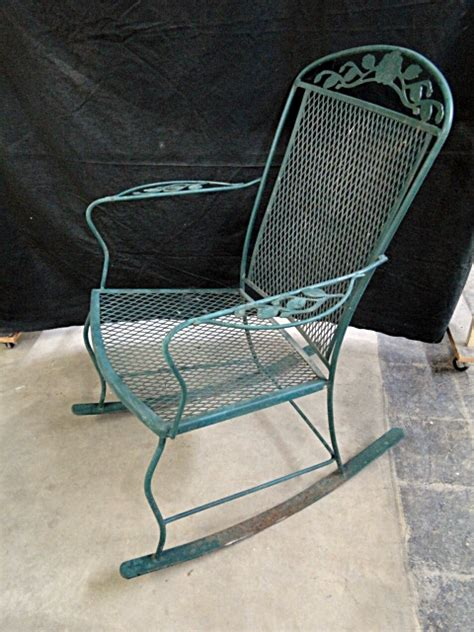patio furniture rocking chair metal patio furniture rocking chair