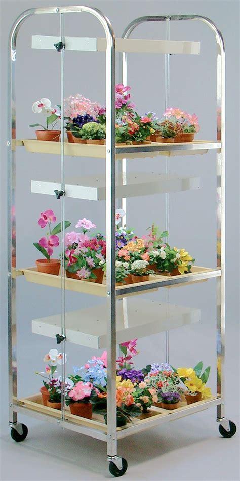 gap compact lite cart aluminum indoor gardening