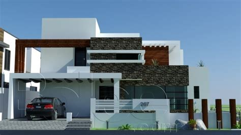 3d front elevation com modern house plans house designs 1 kanal 10 marla plan beautiful 3d front elevation of