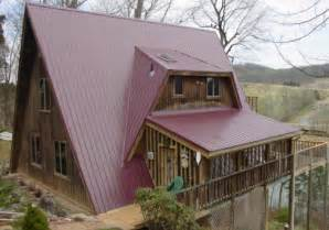 A Frame House Kit Prices Roofing By Mccallister Residential Metal Roofing