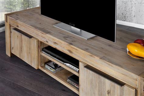 meuble tv acacia meuble acacia blanchi