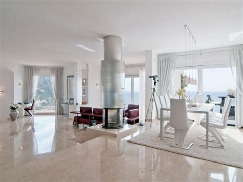wohnzimmer luxus naturstein im wohnzimmer