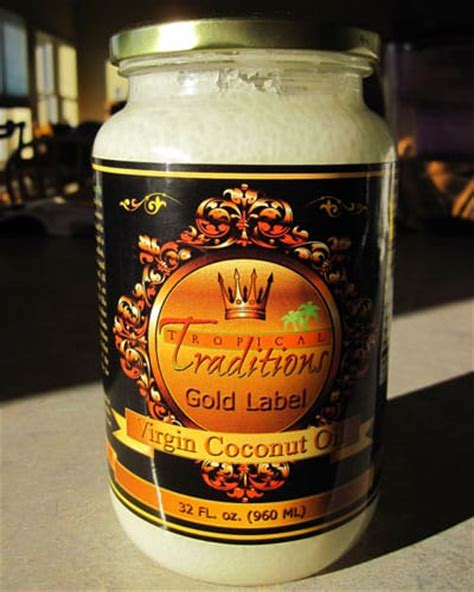 Tropical Traditions Giveaway - tropical traditions gold label virgin coconut oil review and giveaway self sufficiency