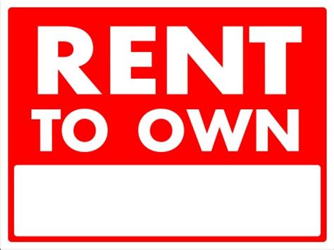 pros and cons for rent to own homes the evanstonian