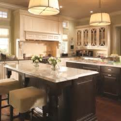 Kitchens With Cabinets And Light Countertops White Cabinets Island Floors Light Countertops For The Home White