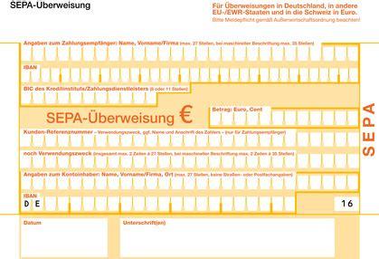 bic der deutschen bank vorlage f 252 r sepa 220 berweisungen selbststaendig de