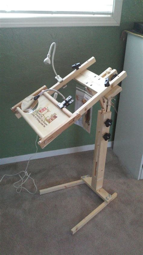 needlework pattern holder needlework floor stand with storage travel bag without