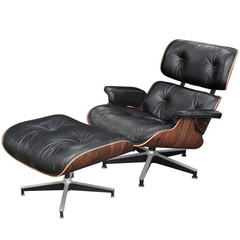 charles eames lounge chair ottoman iconic lounge chair and ottoman by charles and ray eames