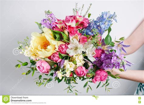 attraction luxury roses bouquet dream world florist box of mixed beautiful flowers royalty free stock