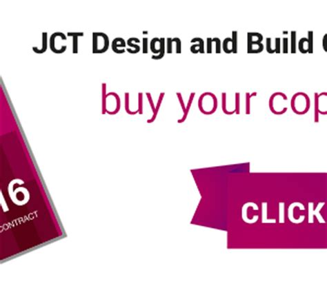 jct design and build contract db 2011 edition blog page 2 the joint contracts tribunal