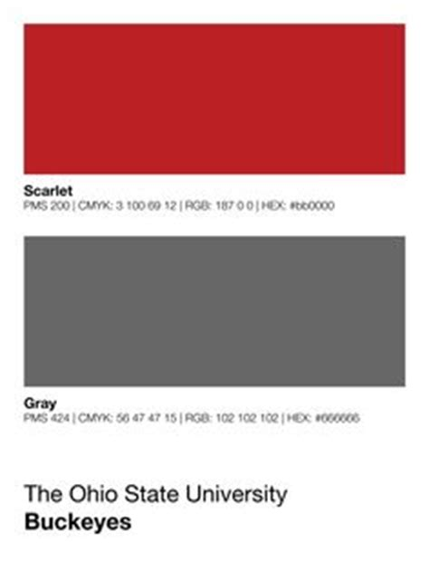 ohio colors pantone search and search on