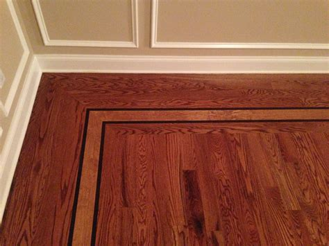 Hardwood Floor Borders Monmouth County NJ   Melo Floors