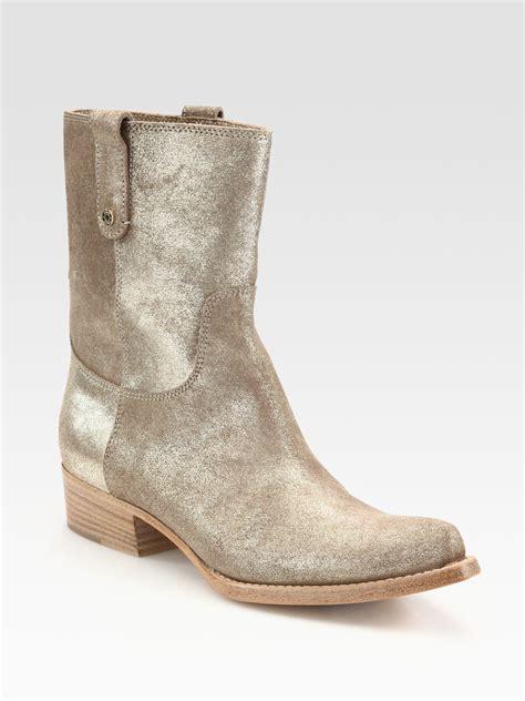 sparkly cowboy boots jimmy choo glitter metallic leather cowboy boots in gold