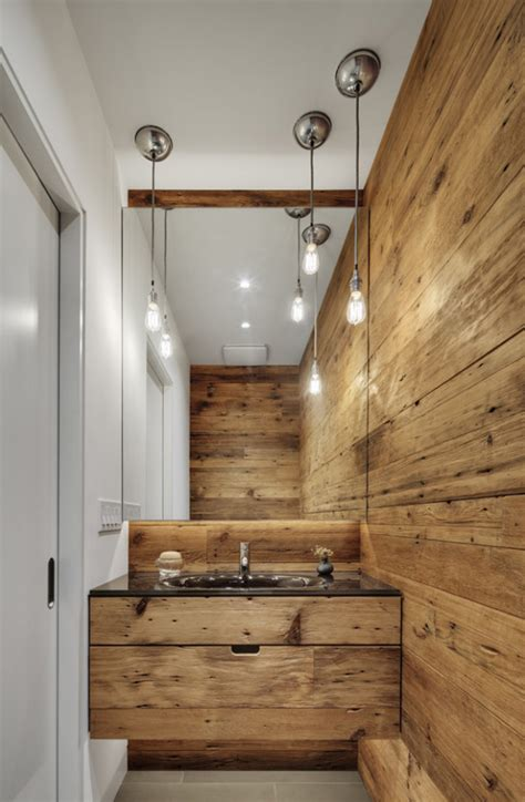 wood walls in bathroom 20 rustic modern bathroom design ideas furniture home