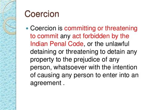 Section 21 Of Indian Penal Code by Free Consent