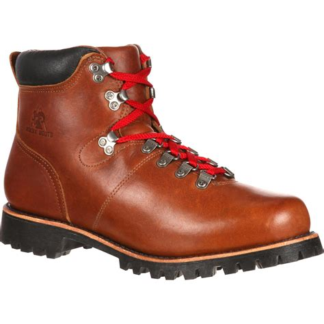 Sepatu Boot Original Azcost Hiker Safety Boot Leather Sued V2 Promo rocky original throwback hiker made in the usa rks0221
