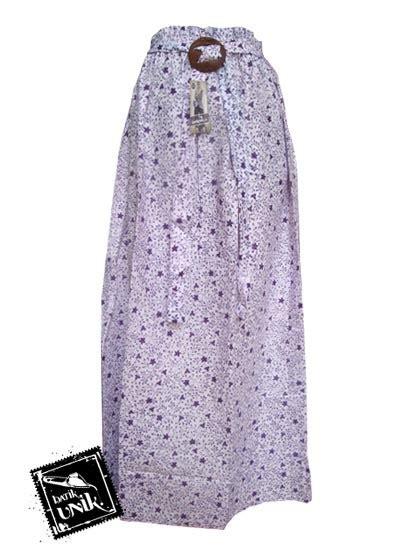 Rok Batik Panjang 60 rok panjang batik cantik motif kembang rambat bawahan