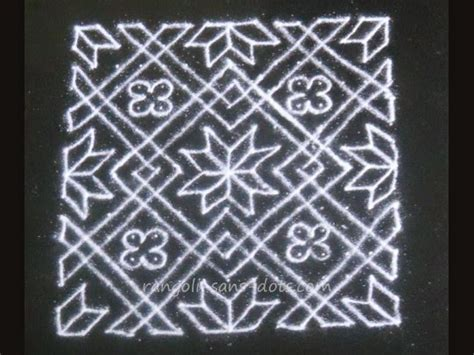 Calendã 1 2015 Unb Dot Rangoli Designs With Number Search Results