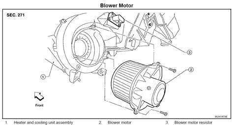 2005 2008 Nissan Xterra Blower Motor And Or Resistor